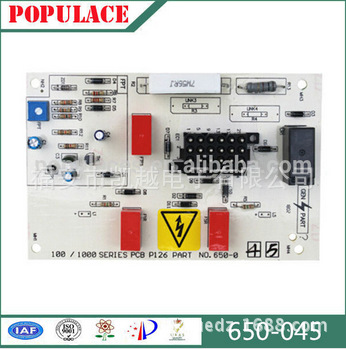 Supply generator control panel, will letter, two lights motherboard, 650-044 650-045 control module, PCB