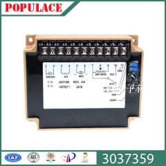 Speed governor, 3037359 speed plate, Cummins electronic control board, generator parts