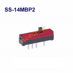 Japan imports micro toggle switch, SS14MBP2 day switch, nikkai switch, slide switch SS14MBP2