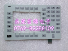 New ABB demonstration device, key film display panel, 3HNE00313-1 display box, keyboard film