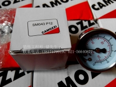 New genuine CAMOZZI SM043 pressure gauge