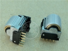 The original Japanese M encoder potentiometer with tyre press switch 6 pin EVQWGD001