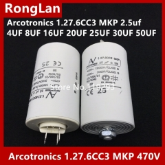 [Original authentic] Arcotronics 1.27.6CC3 MKP 2.5uf 4UF 8UF 16UF 20UF 25UF 30UF 50UF 5% of the motor start capacitors