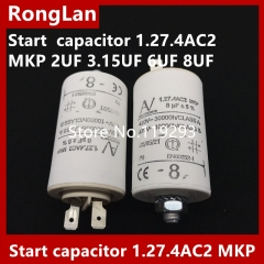 [New Original] ARCOTRONICS Motor inverter start capacitor 1.27.4AC2 MKP 2UF 3.15UF 6UF 8UF