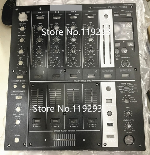 Original DJM700 DJM-700 mixer fader black iron panel vertical cutting panel, big board,small board, clipboard