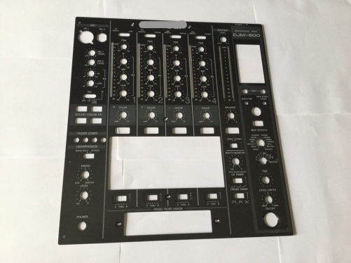 [BELLA]The original DJM 800 panel mixer iron black panel new original DJM800