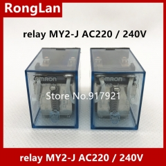 100% new original OMRON Omron relay MY2-J AC220 / 240V factory outlets