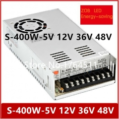 400W S400W 5V 12V 24V 36V 48V LED Switching Power Supply,75A 33A 16.7A 11A 8.3A ,85-265AC input,CE ROSH power suply Output