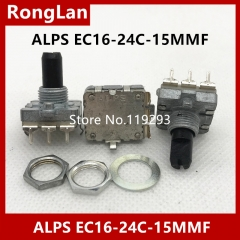 Imported Japan ALPS encoder encodes switch EC16-24C-15F digital audio switch potentiometer
