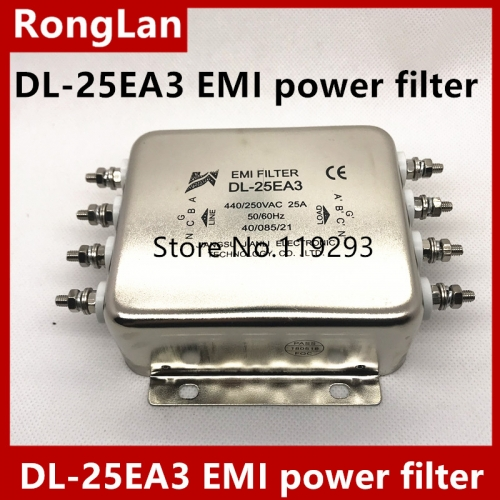 Jianli DL-25EA3 DL-50EA3 DL-30EA3 EMI power filter for three-phase four wire