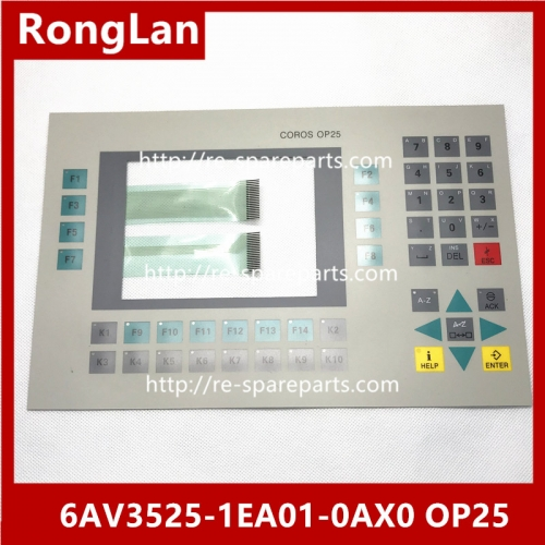 High quality SIEMENS 6AV3525-1EA01-0AX0 OP25 operation push-button board