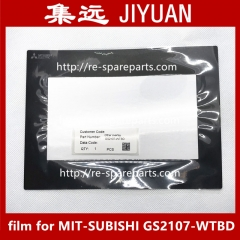 Protective film for MIT-SUBISHI GS2107-WTBD touch screen