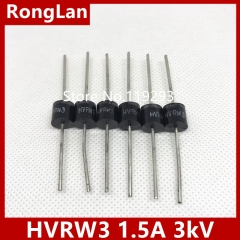 high voltage high voltage diodes HVRW3 high frequency high voltage silicon stack 1.5A 3kV