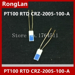 [imported] high precision PT100 thin film thermal resistor CRZ-2005-100-A