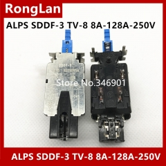 ALPS power switch SDDF-3 TV-8 8A-128A-250V