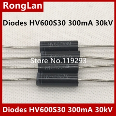[HVGT] high voltage diode HV600S30 high voltage silicon heap 300mA30kV power frequency HV550S30