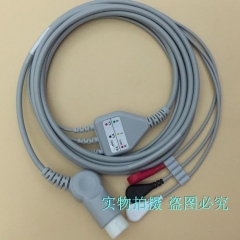 MP5 M3046A M2 M3 M4 Monitor Lead Three-lead-button HP78352 78354 78834