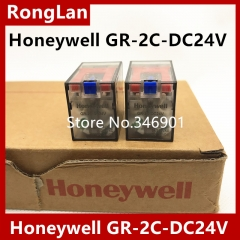 Original genuine Honeywell Honeywell relay, GR-2C-DC24V 8 feet, 2CO, 5A, LED