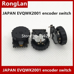 Japan's Matsushita EVQWK2001 ED dial encoder pulley 360 degrees 15 o'clock position with switch