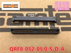 QRF8-052-05.0-S-D-A Samtec Board to Board & Mezzanine Connectors 0.80 mm Q Rate Slim Body Ground Plane Socket