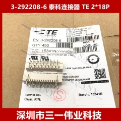 3-292208-6 Tyco Connector TE 2*18P HDR VERT 1.5MM 36P