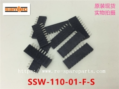 SSW-110-01-F-S  Samtec Conn Socket Strip SKT 10 POS 2.54mm Solder ST Thru-Hole Bulk