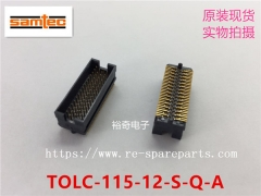 TOLC-115-12-S-Q-A Samtec Conn Shrouded Header HDR 60 POS 0.635mm Solder ST SMD Tube