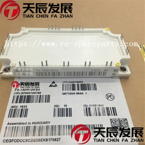 F4-150R12KS4   INFINEON     IGBT Modules N-CH 1.2KV 180A