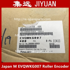 Japanese M EVQWKG007 Roller Encoder with Switch 15 Gear 360 Degree Rotary Disk Dial Wheel Coding