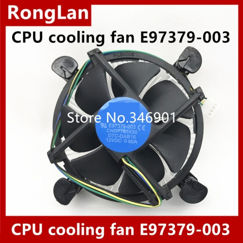CPU cooling fan E97379-003 CNDP751K50 DTC-DAB16 12VDC NEW Original radiator