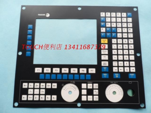 New FAGOR cn55f-en-ck-a-b-3 button membrane switch