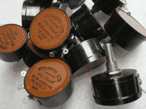 Origional Product the United Kingdom colvern Not Tin 15K 15000 Origional Product Nut Potentiometer