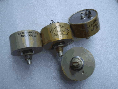 The United Kingdom colvern Ltd Not Tin 50K 50000 Origional Product Nut Oil-Immersed Potentiometer 15 Price