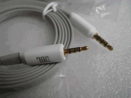 Original gold-plated JBL upgrade cable four 2.5mm to 3.5mm male audio recording cables