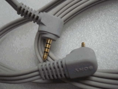 Origional Product Sony Headphone Cable Four 3.5MM on 3.5 Mm Audio Alignment Length 2 M