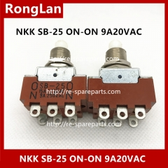 NKK SB-25 ON-ON 9A20VAC  6 feet  foot switch