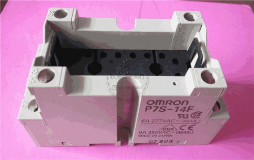 Imported Omron P7S-14F Relay Socket Bottom Seat 6a250v 14 Feet