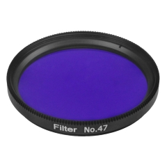 "Astromania 2"" Color / Planetary Filter for Telescope - #47 Dark Blue"