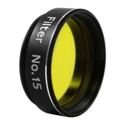 "Astromania 1.25"" Color/Planetary Filter - #15 Yellow-Orange"