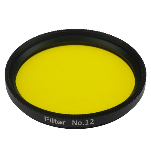 "Astromania 2"" Color / Planetary Filter for Telescope - #12 Yellow"