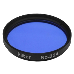 "Astromania 2"" Color / Planetary Filter for Telescope - #80A Blue"