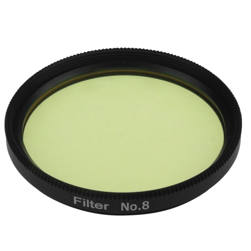 "Astromania 2"" Color / Planetary Filter for Telescope - #8 Yellow"