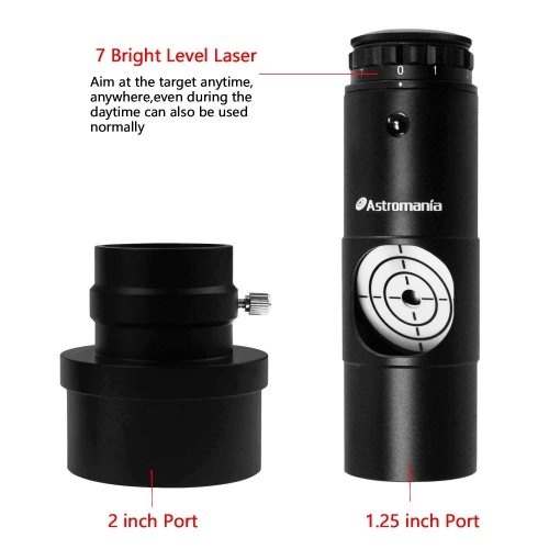 "Astromania Alignment 1.25"" Next Generation Laser Collimator 2"" Adaptor for Newtonian Telescopes"