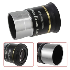"Astromania 1.25"" 15mm 66-degree Ultra Wide Angle Eyepiece for Telescope"