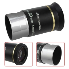 "Astromania 1.25"" 20mm 66-degree Ultra Wide Angle Eyepiece for Telescope"