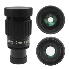 "Astromania 1.25""-82 Degree SWA-10mm compact eyepiece, Waterproof & Fogproof - allows any water enter the interior and enjoy an unobstructed view"