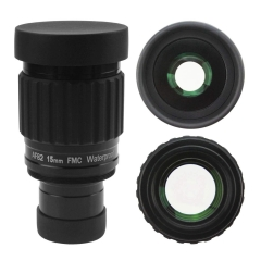 "Astromania 1.25""-82 Degree SWA-15mm compact eyepiece, Waterproof & Fogproof - allows any water enter the interior and enjoy an unobstructed view"