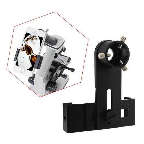 Astromania Smartphone IPhone Adapter with Eyepiece Adapter 16mm - 25mm - for photography with telescopes and spotting scope or binoculars