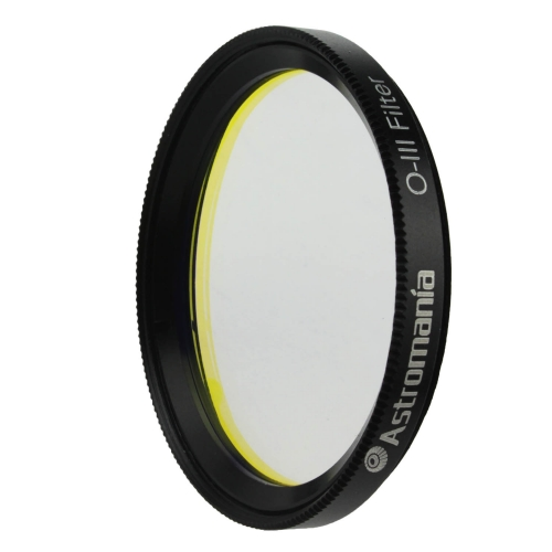 "Astromania 2"" O-III Filter - produces near-photographic views of the Veil, Ring, Dumbbell and Orion nebula, among many other objects"