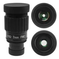 "Astromania 1.25""-82 Degree SWA-7mm compact eyepiece, Waterproof & Fogproof - allows any water enter the interior and always enjoy an unobstructed view"